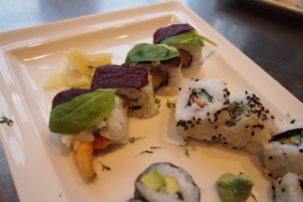 Sushi selber machen Lektion 4 Inside Out