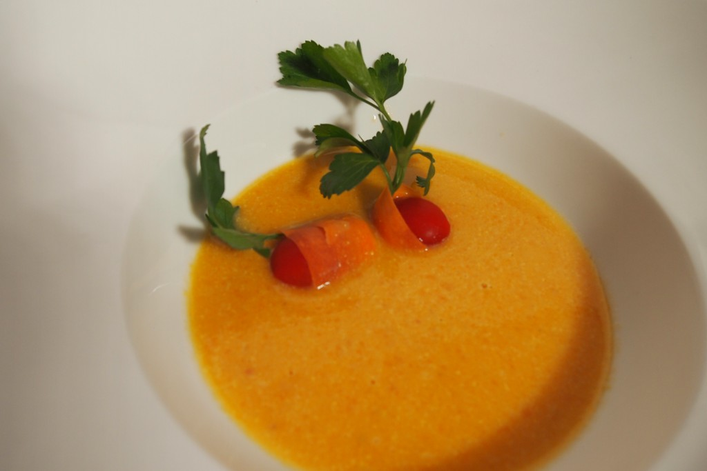 Karotten-Kokos-Suppe